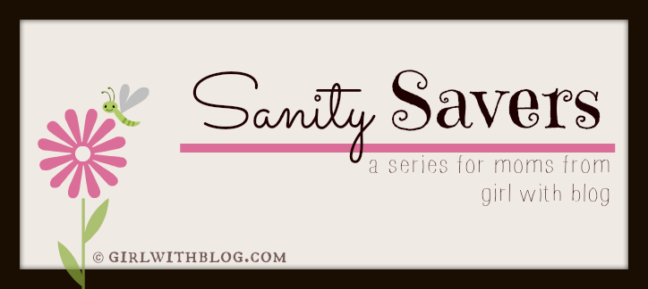 on the things that, as a mom, save my sanity {Sanity Savers: MOPS}
