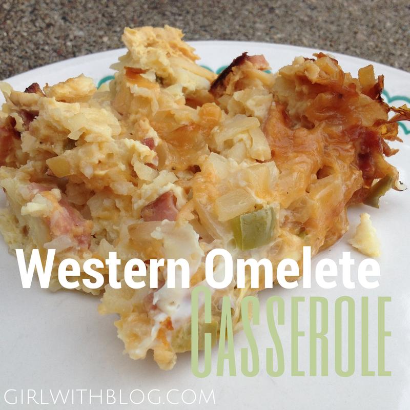 On a Recipe for Western Omelet Casserole