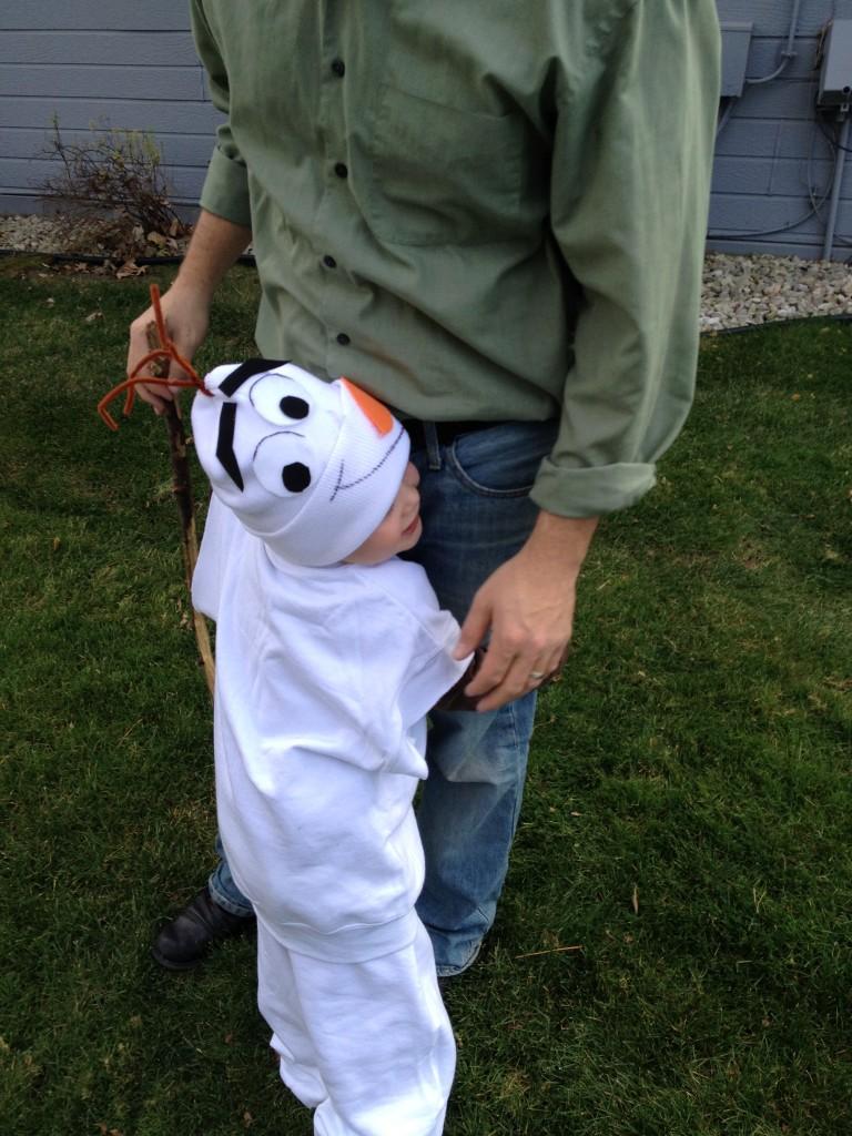 DIY Olaf Costume