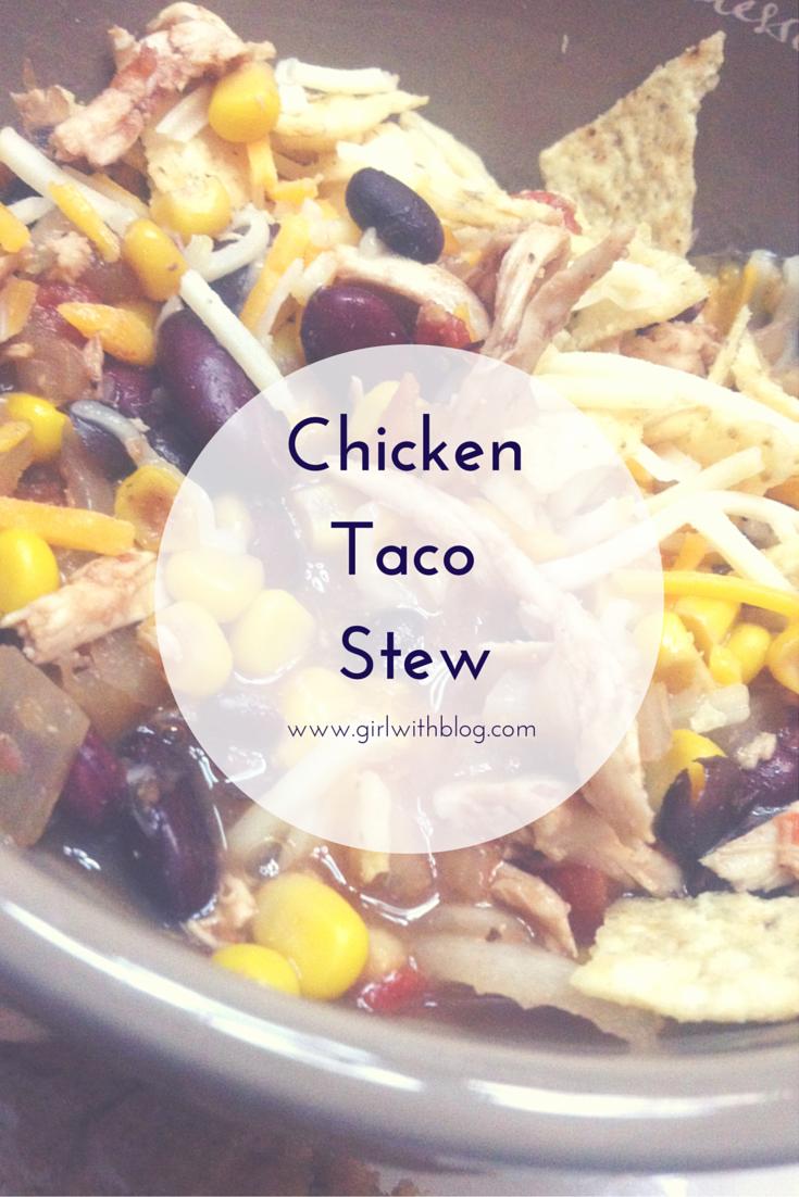 On Slow-Cooker Chicken (or turkey) Taco Stew