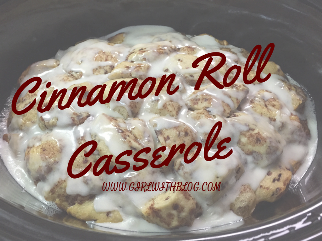 On Warm Memories & Cinnamon Roll Casserole