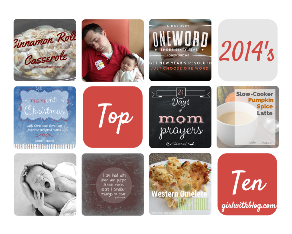 Top 10 of 2014 at girlwithblog.com