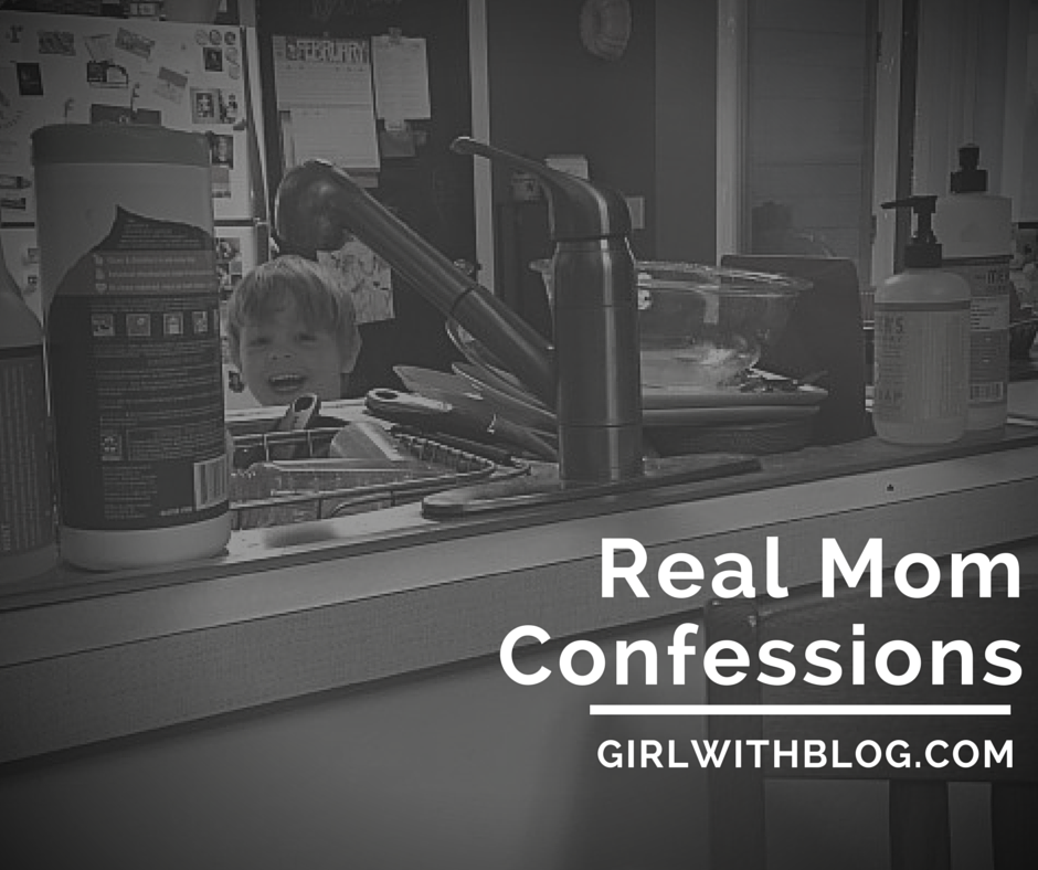 Real Mom Confessions: the link-up {week 5}