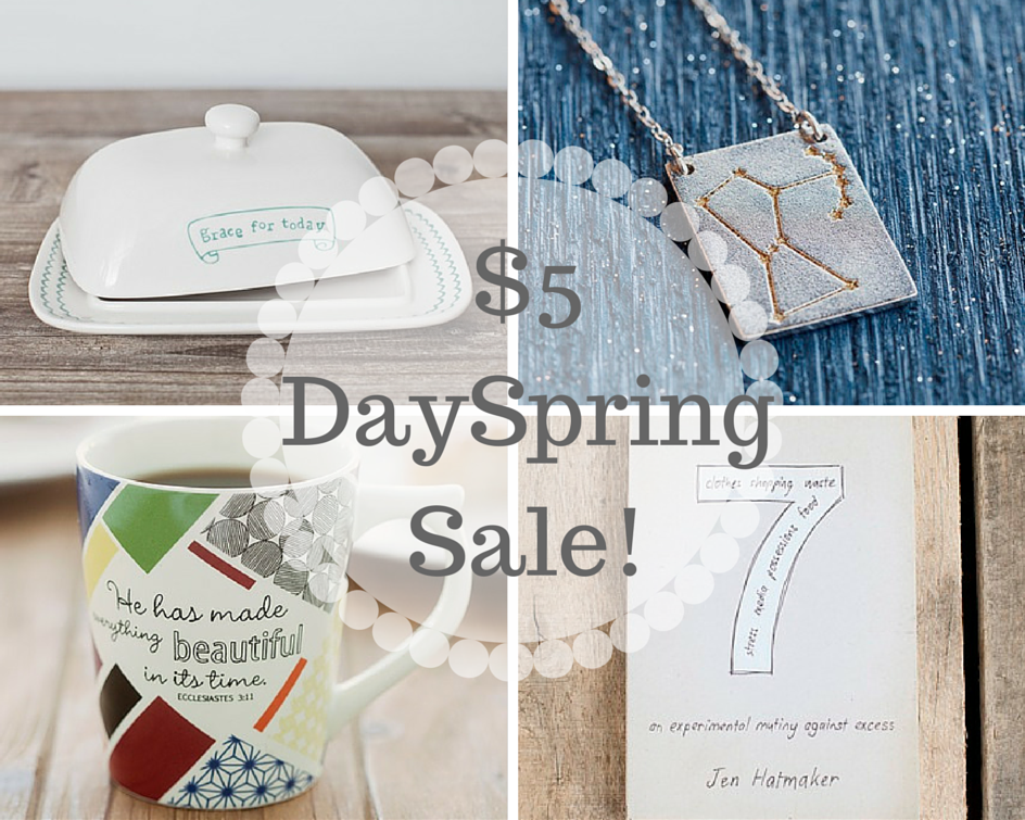 $5 DaySpring Sale!