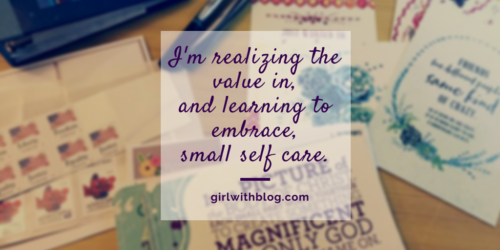 Small Self Care | girlwithblog.com