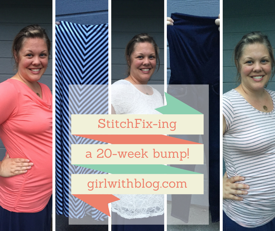 Maternity Stitch Fix -ing a 20-week Baby Bump