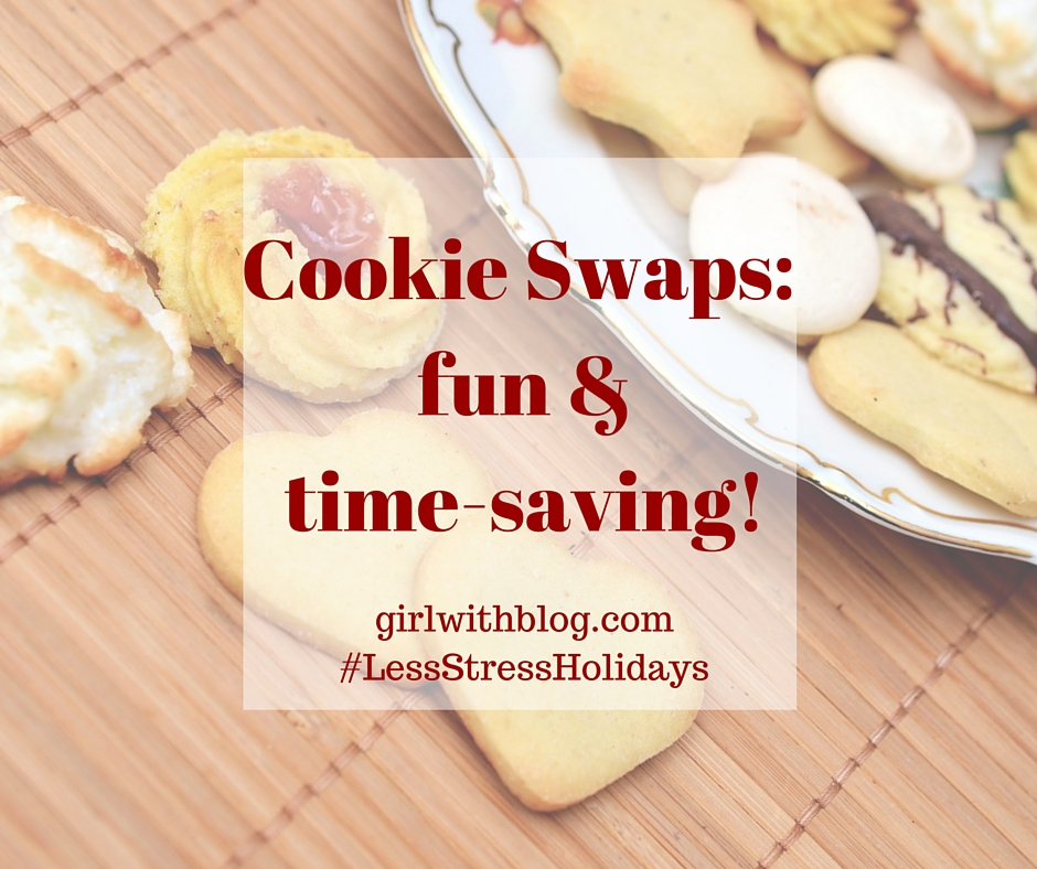 Cookie Swaps - fun & time-saving!