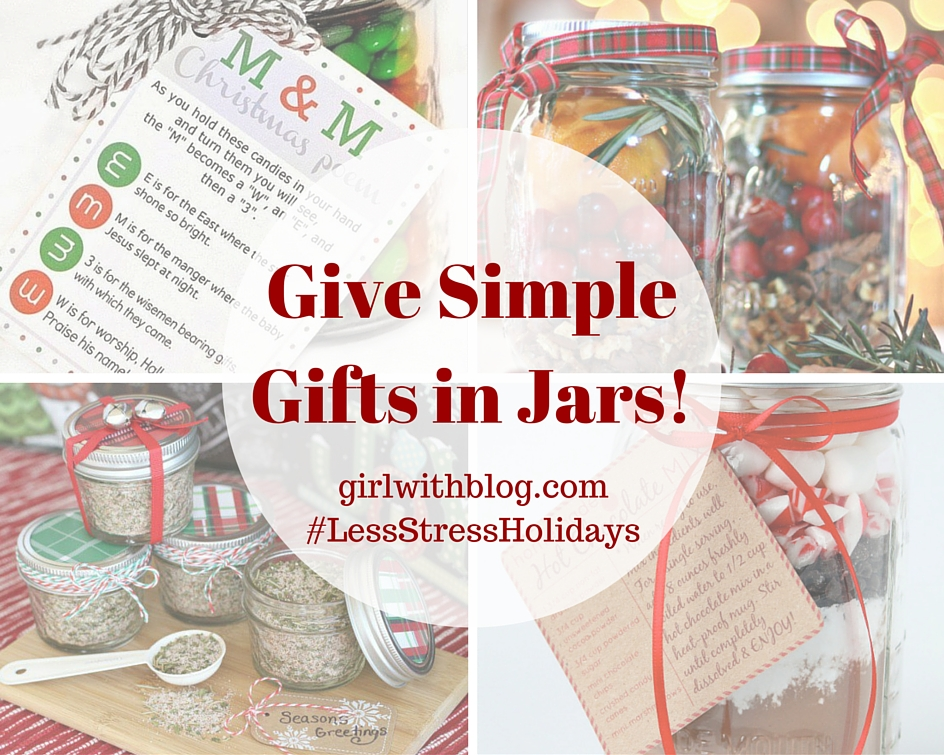 Give Simple Gifts in Jars!