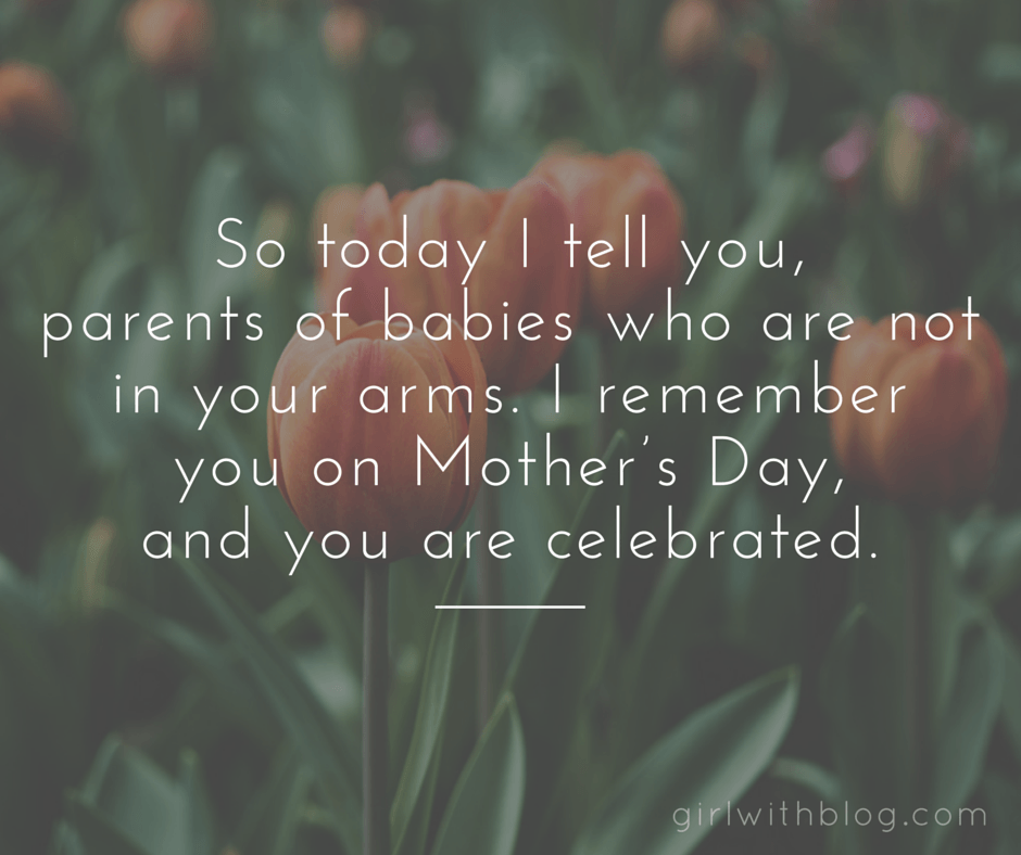 On the Other Mothers I will Celebrate on Mother's Day
